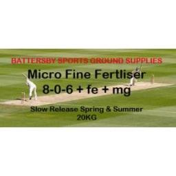 SLOW RELEASE SPRING AND SUMMER: 8-0-6+FE+MG, 20KG