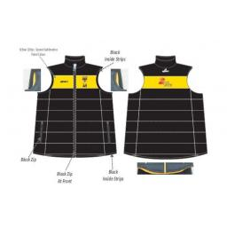Burscough CC Puffer Vest