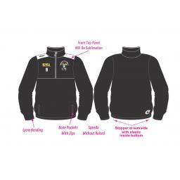 Rochdale St Clements 1/2 Zip Tracksuit Training Jacket