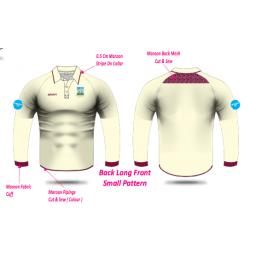 Kidsgrove CC Playing Shirt - Long Sleeve