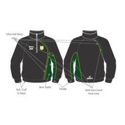 Milnrow CC Training Jacket - 1/4 Zip