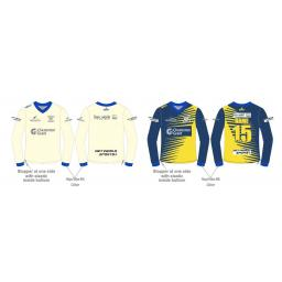 Northop Hall CC Reversible Sweater - Long Sleeve