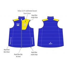 Northop Hall CC Puffer Vest