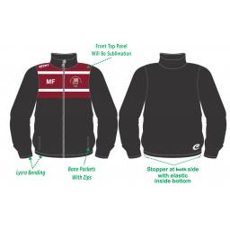 Halsall CC Tracksuit Training Jacket