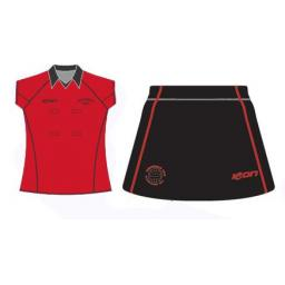ROCHDALE JNC PLAYING SHIRT & SKORT SET