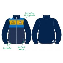 Woodley CC Tracksuit Training Jacket - Full Zip