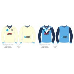 Swinton Moorside CC Senior Reversible Sweater - Long Sleeve