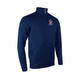 Atherton CC Golf Society Glenmuir Zip neck Cotton Sweater