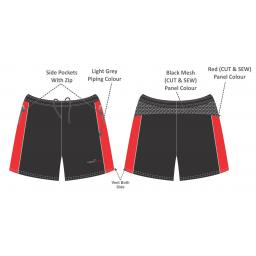 Formby Fitness Training Shorts - Mens