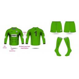 Santos AFC Under 14's Goalkeeper Kit