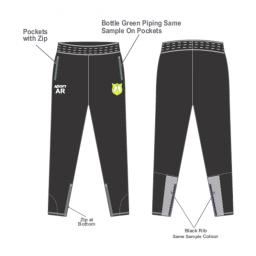 Milnrow CC Skinny Fit Track Pants
