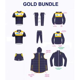 Northern CC TRAINING KIT BUNDLE - GOLD