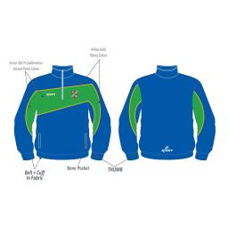 North West Ladies Cricket Union Training Jacket - 1/4 Zip