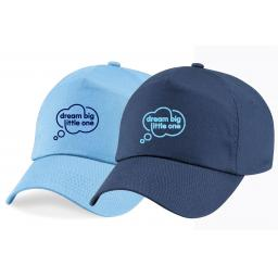 DBLO Junior 5 Panel Cap - Sky Blue