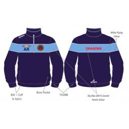 Unsworth CC Training Jacket - 1/4 Zip