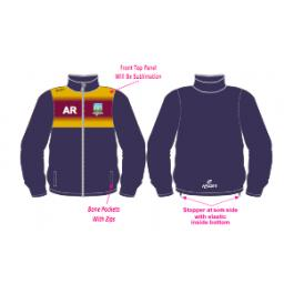 Kidsgrove CC Training Jacket - Full Zip