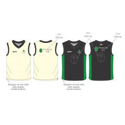 Myerscough Cricket Reversible Sweater - Sleeveless