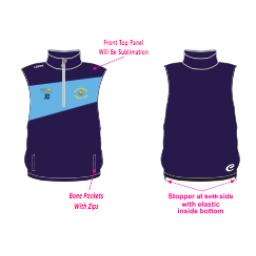 Queensbury CC Gilet