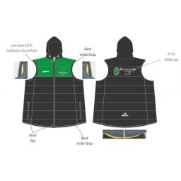 Myerscough Cricket (Preston) Puffer Vest