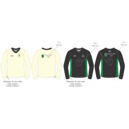 Myerscough Cricket Reversible Sweater - Long Sleeve