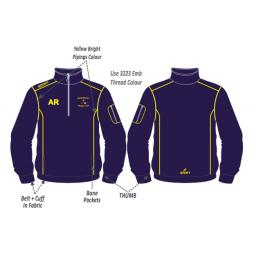 Micklehurst CC Training Jacket - 1/4 Zip