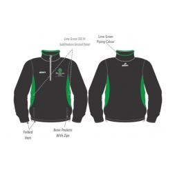 Myerscough Cricket (Preston) Training Jacket - 1/4 Zip