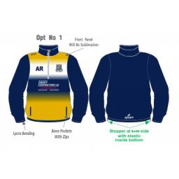 Prestatyn CC Training Jacket - 1/4 Zip