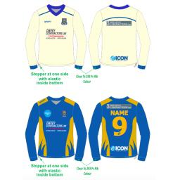 Prestatyn CC Reversible Sweater - Long Sleeve