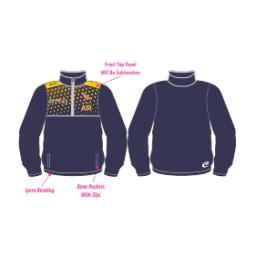 Southport Trinity CC Training Jacket - 1/4 Zip