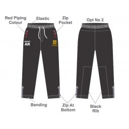 Bradford & Bingley CC Slim Fit Track Pants