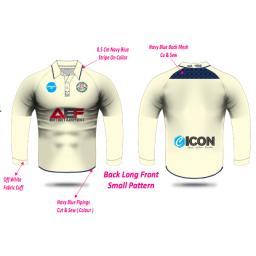 Swinton Moorside CC Senior Playing Shirt - Long Sleeve