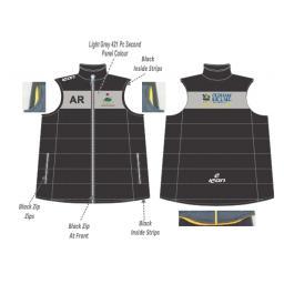 Werneth CC Puffer Vest