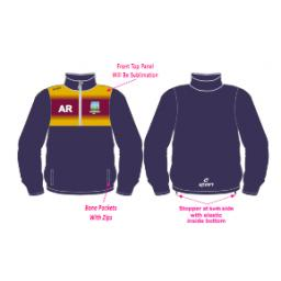 Kidsgrove CC Training Jacket - 1/4 Zip