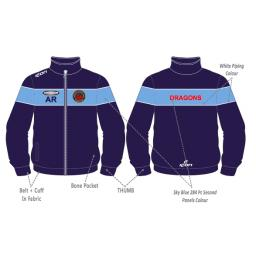 Unsworth CC Training Jacket - Full Zip