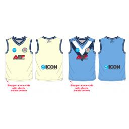 Swinton Moorside CC Senior Reversible Sweater - Sleeveless