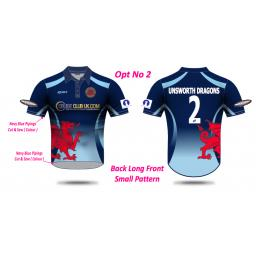 Unsworth CC T20 Shirt - Short Sleeve