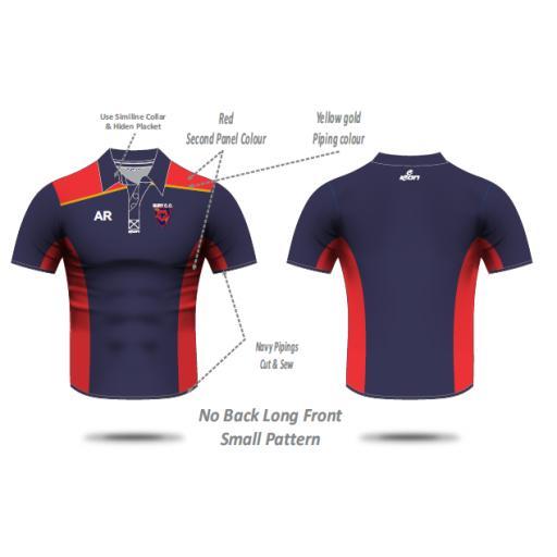 Bury CC Pique Polo Shirt