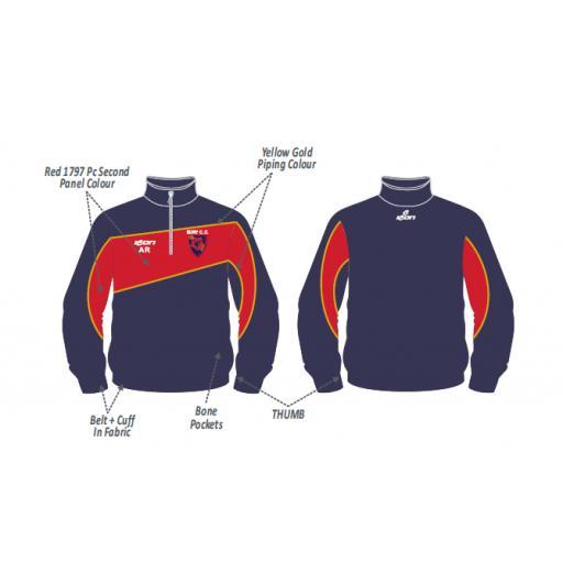 Bury CC Training Jacket - 1/2 Zip