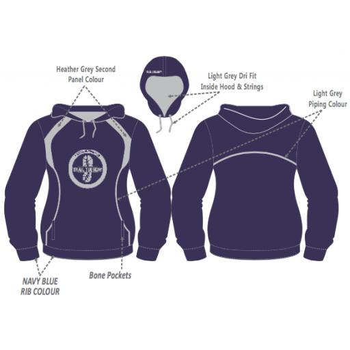 Trail Tuesday Womens Hoodie