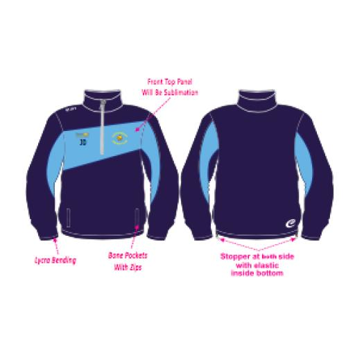 Queensbury CC Training Jacket - 1/4 Zip