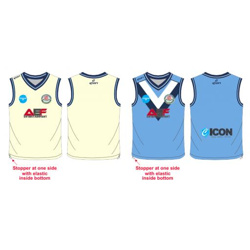 Swinton Moorside CC Junior Reversible Sweater - Sleeveless