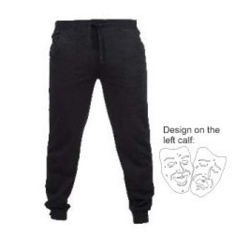 HHC PERFORMING ARTS SLIM CUFFED JOGPANTS