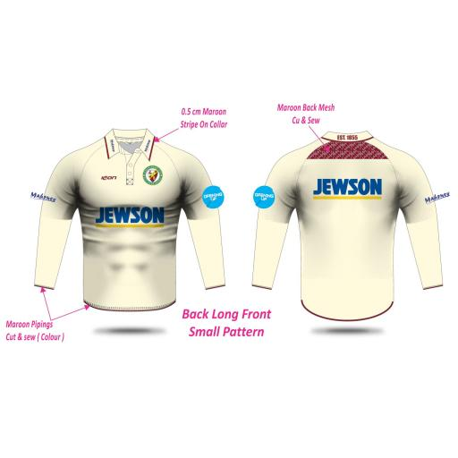 Lytham CC Long Sleeve Playing Shirt