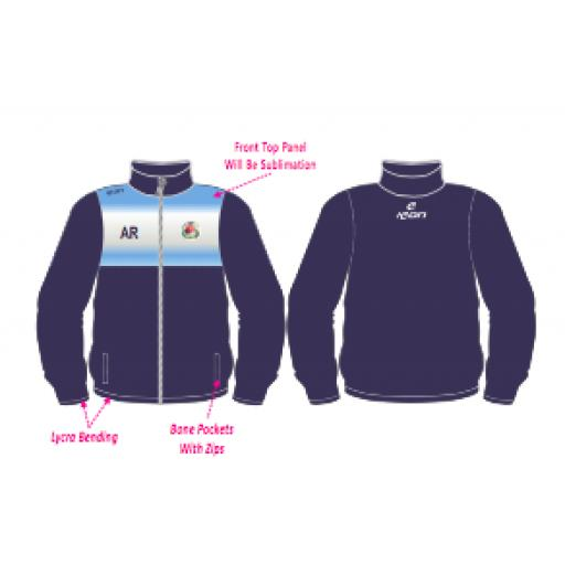 Swinton Moorside CC Training Jacket - Full Zip