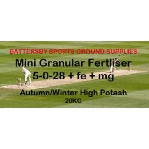 AUTUMN/WINTER HIGH POTASH: 5-0-28+FE+MG, 20KG