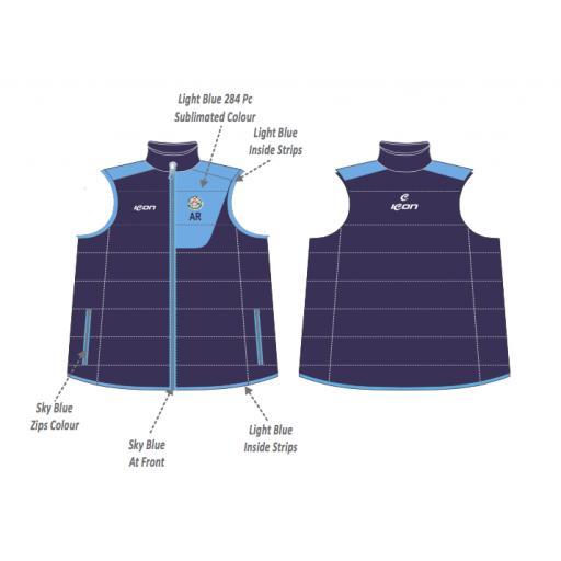 Swinton Moorside CC Puffer Vest
