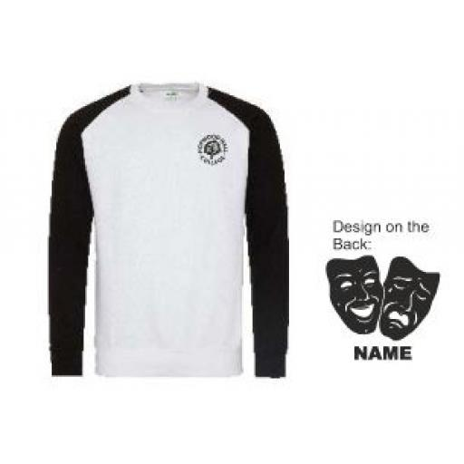 HHC Performing Arts Baseball Sweatshirt