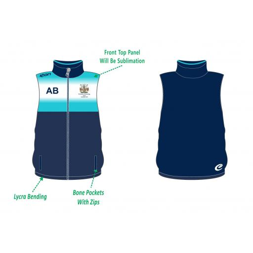 Rochdale Swimming Club Gilet