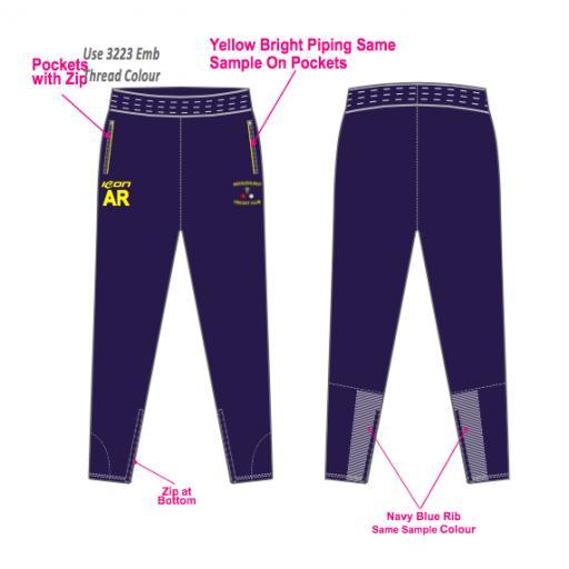 Micklehurst CC Skinny Fit Track Pants