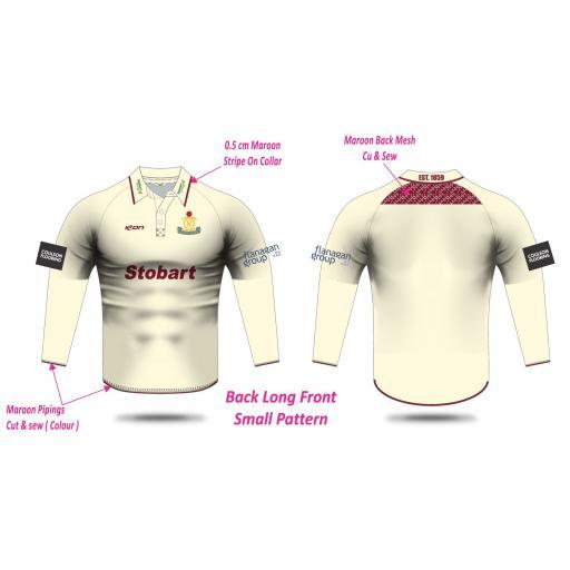 Northern CC Long Sleeve Playing Shirt